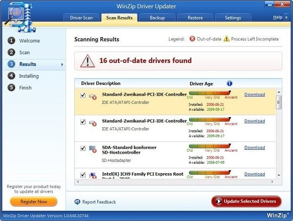 WinZip Driver Updater 5.36.0.18 + Serial Key is Here ! 2