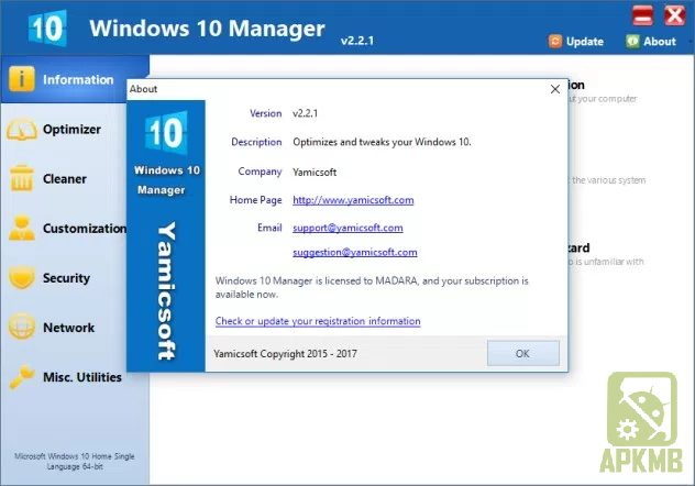 Windows 10 Manager 2.3.9 + Portable is Here ! 1