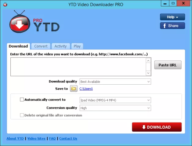 YouTube Downloader (YTD) Pro 5.9.10.2