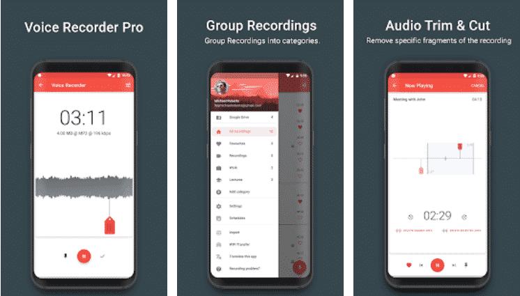 Voice Recorder Pro Apk Latest