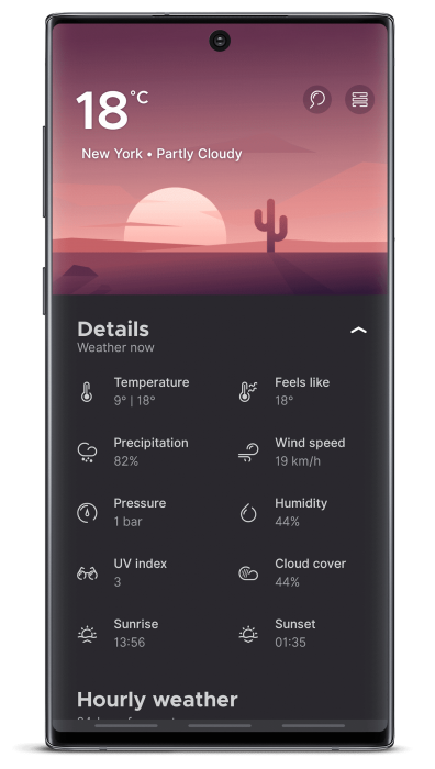 Overdrop Weather Pro Apk Latest Version