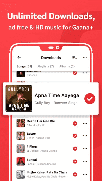 Gaana Music Premium APK Latest