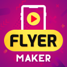 flyer maker poster maker promo video marketing